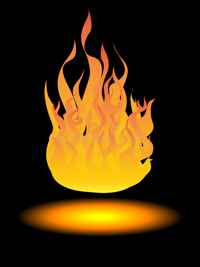 Download Fuoco illustrazione vettoriale. Illustrazione di fuoco - 7321784