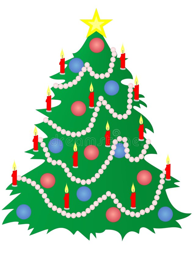 Fuoco-albero royalty illustrazione gratis