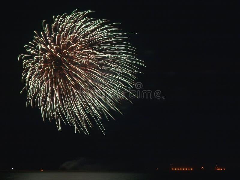 Fuoco D Artificio Fotografia Stock