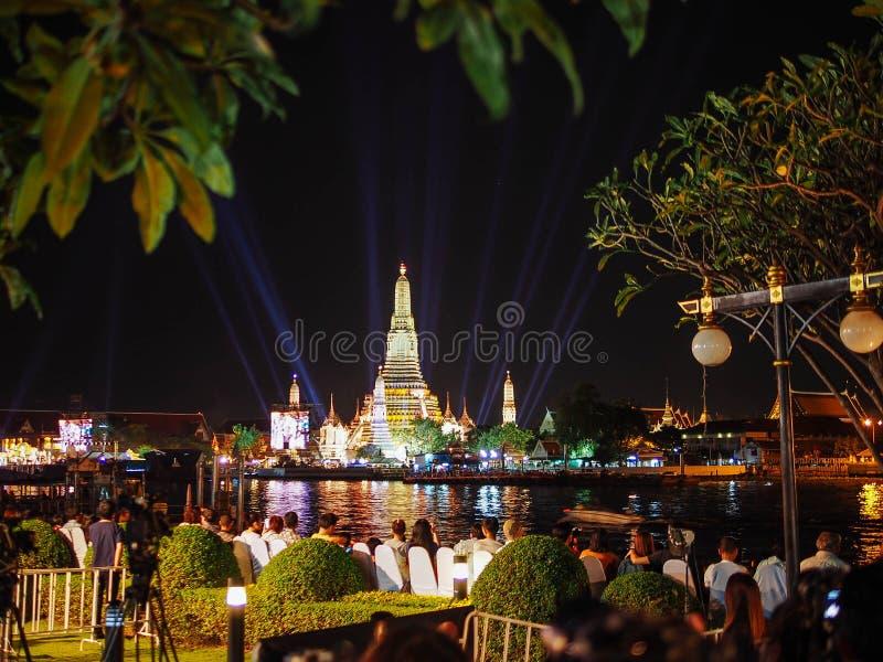 Fuoco d'artificio Tailandia del nuovo anno fotografia stock libera da diritti