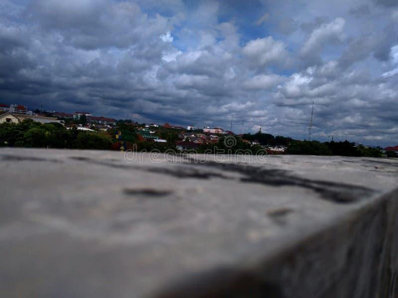 Fuoco della nuvola fotografia stock libera da diritti