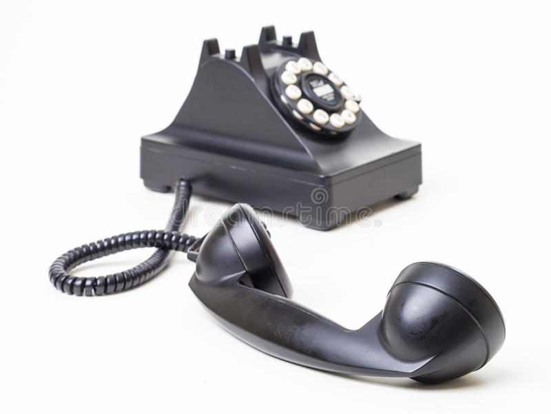 Fuori dall'amo - retro telefono fuori dall'amo immagine stock