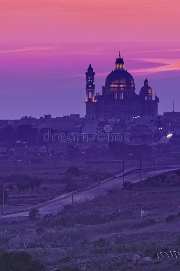 Fuq L-Għolja On the hill royalty free stock images