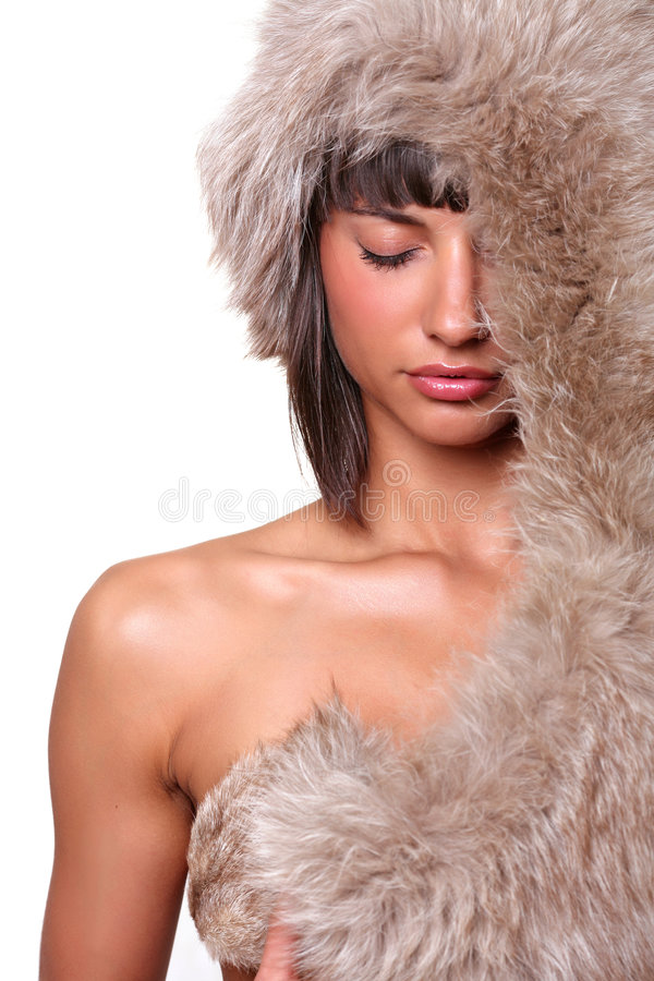 Fur stock image