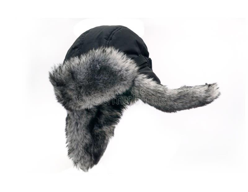 Download Fur cap stock image. Image of black, waterproof, cap - 34116789
