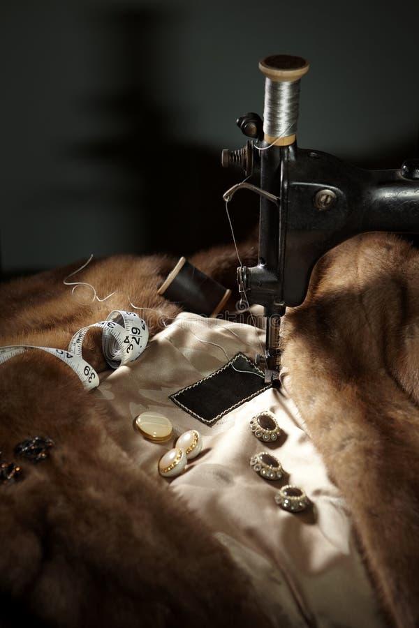Fur coat assembly