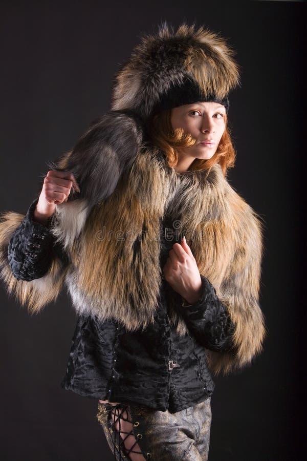 Download Fur in the dark stock image. Image of beautiful, human - 3177623