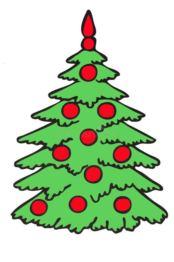 Download Fur-tree stock illustration. Illustration of december - 12008778