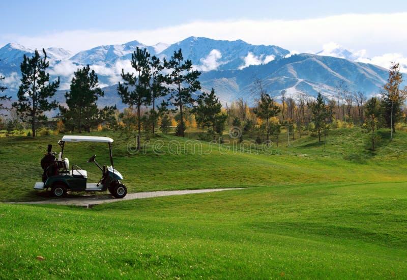 fura golf fotografia stock