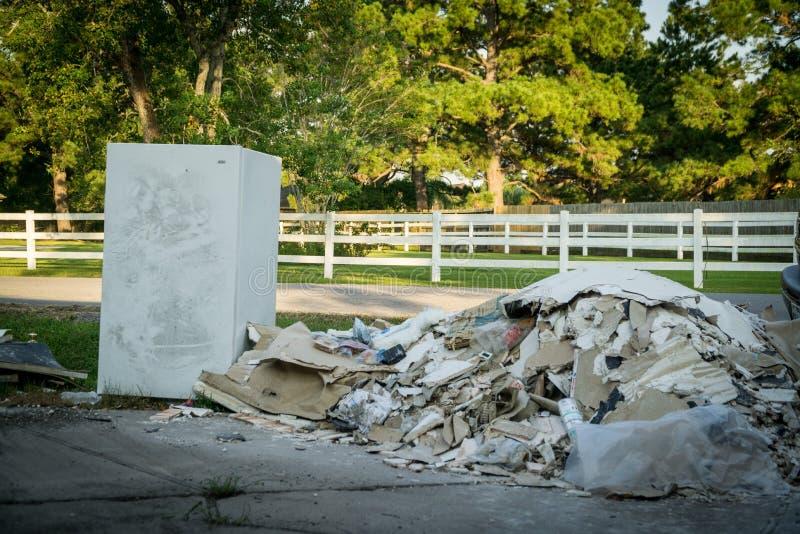 Furacão Harvey Aftermath foto de stock royalty free