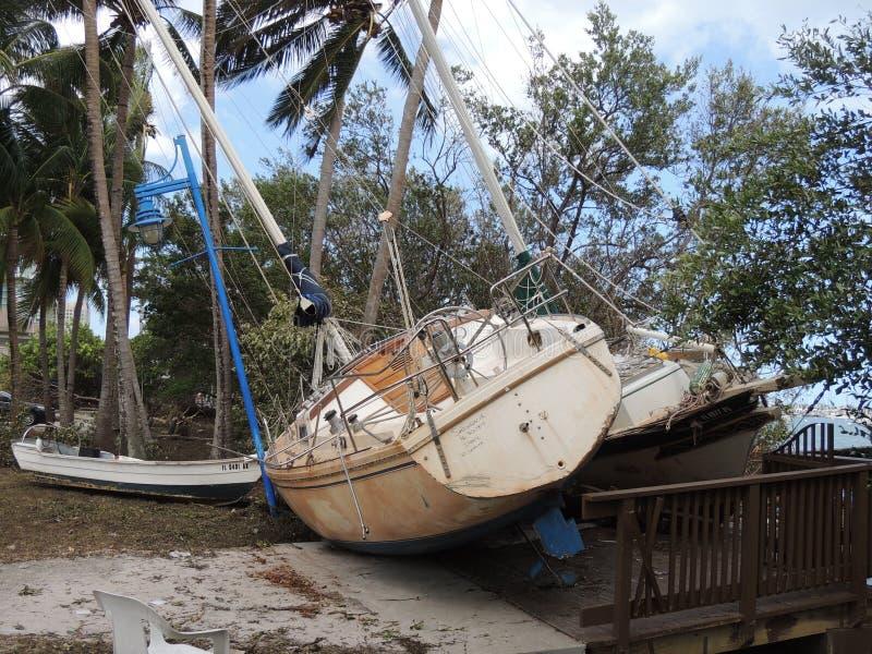 Furacão Irma Damage foto de stock