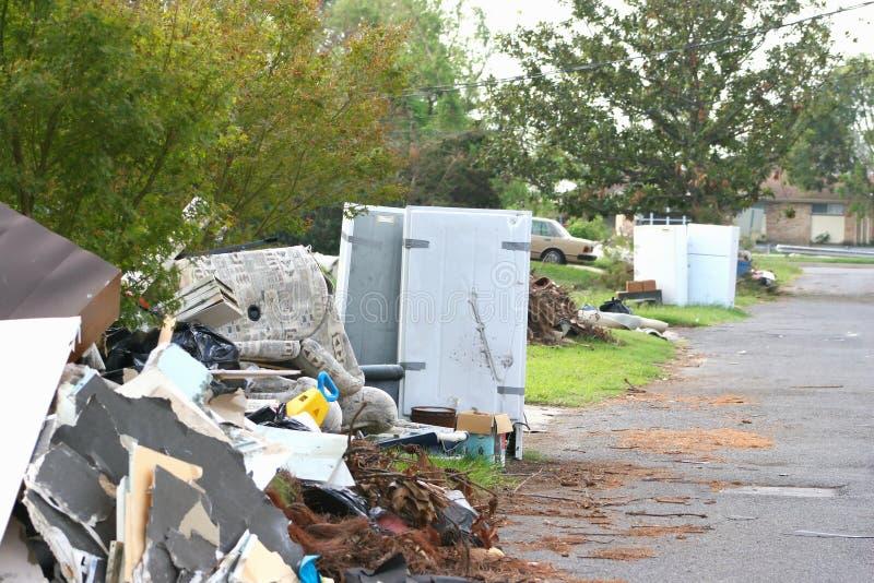 Furacão Katrina4 imagem de stock royalty free