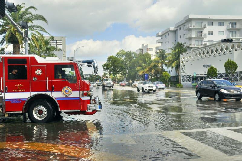 Furacão Sandy imagem de stock