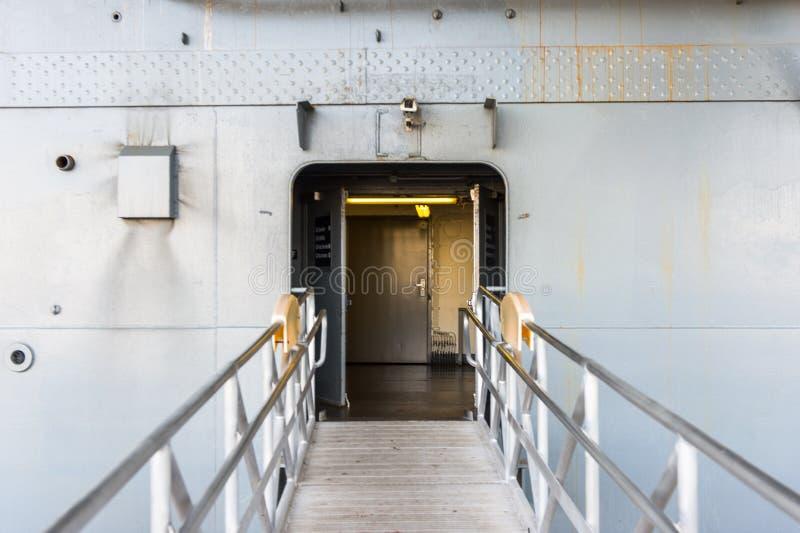 Furchtloses Meer, Luft und Weltraummuseum, New York lizenzfreies stockfoto