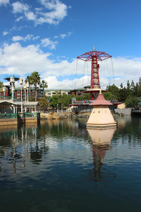 Furchtsame Fahrten Disneyland lizenzfreie stockbilder