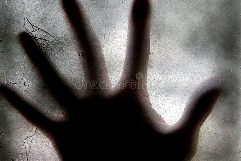 Furchtsame Hand lizenzfreies stockfoto