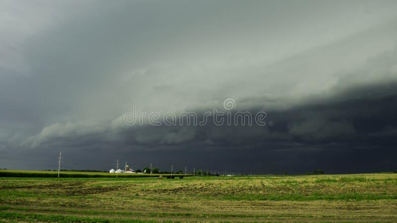 Furchtsame Wolke lizenzfreies stockbild
