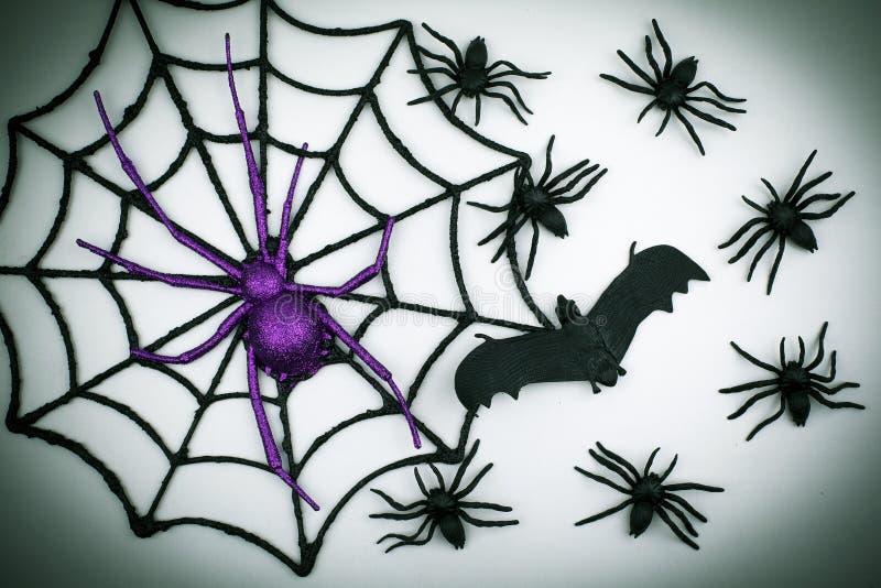 Furchtsamer Halloween-Hintergrund stockbilder