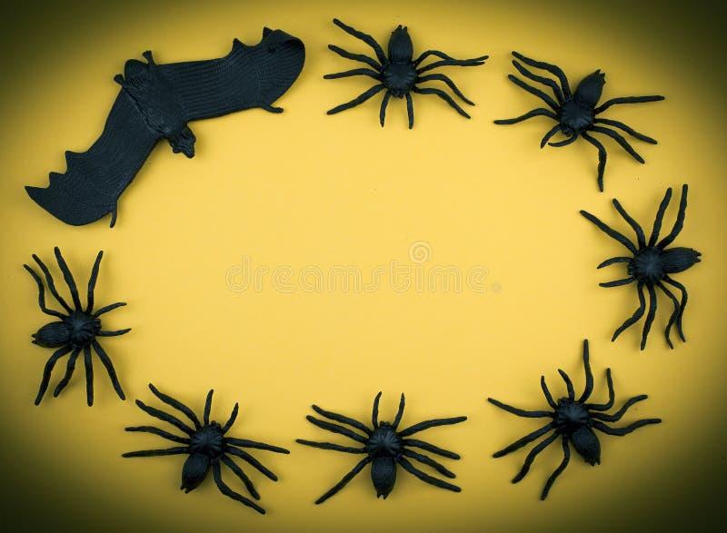 Furchtsamer Halloween-Hintergrund stockfotografie