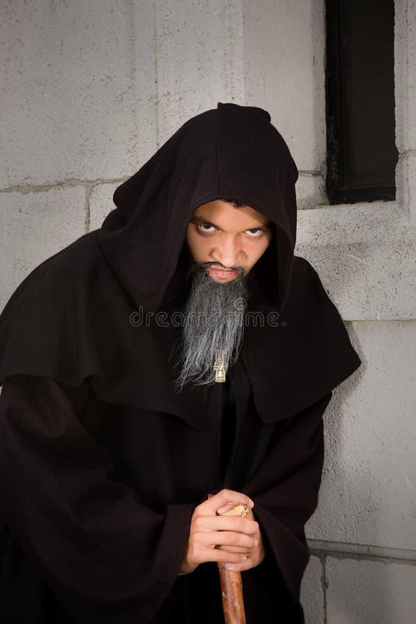 Furchtsamer Mönch stockbild