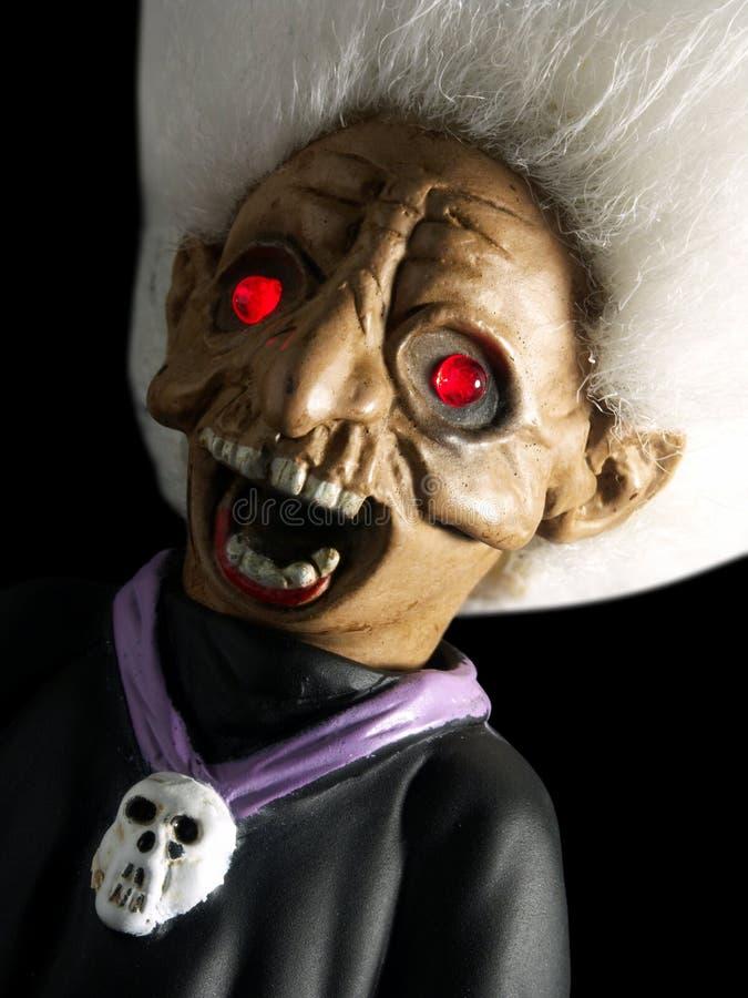 Furchtsames Halloween-Gesicht lizenzfreie stockbilder