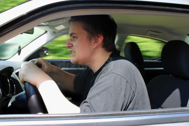 Fureur de route images libres de droits