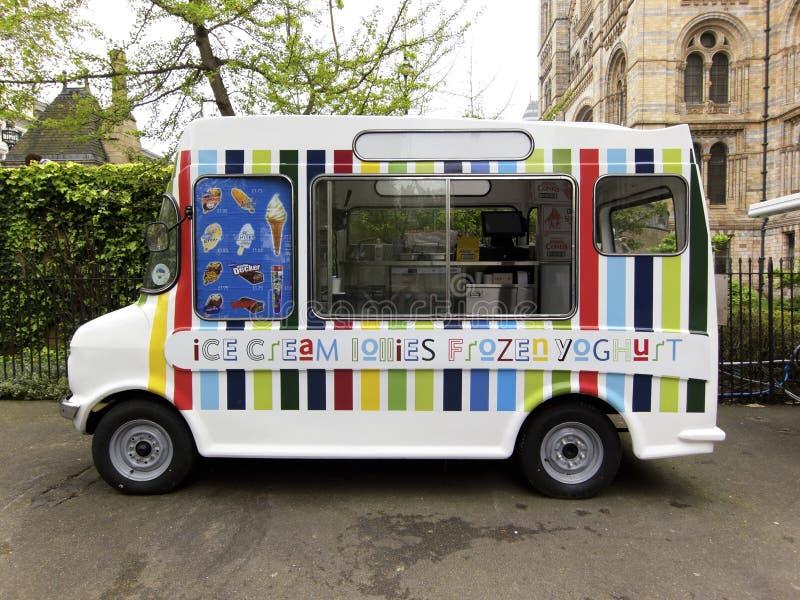 Furgone del gelato fotografia stock libera da diritti