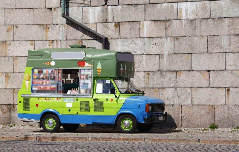 Furgoneta del helado imagen de archivo libre de regalías