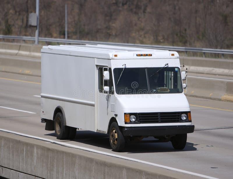 furgonetka dostawcza obrazy stock