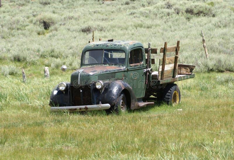 furgonetka stary rocznik obrazy stock