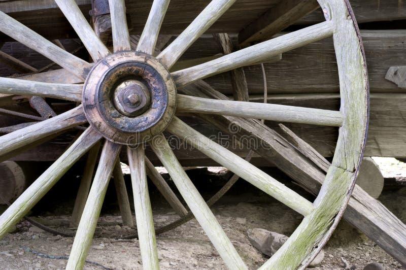 furgonu koło zdjęcia stock