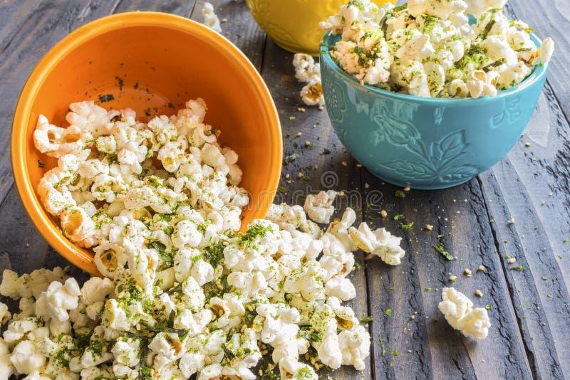 Furikake Popcorn royalty free stock image