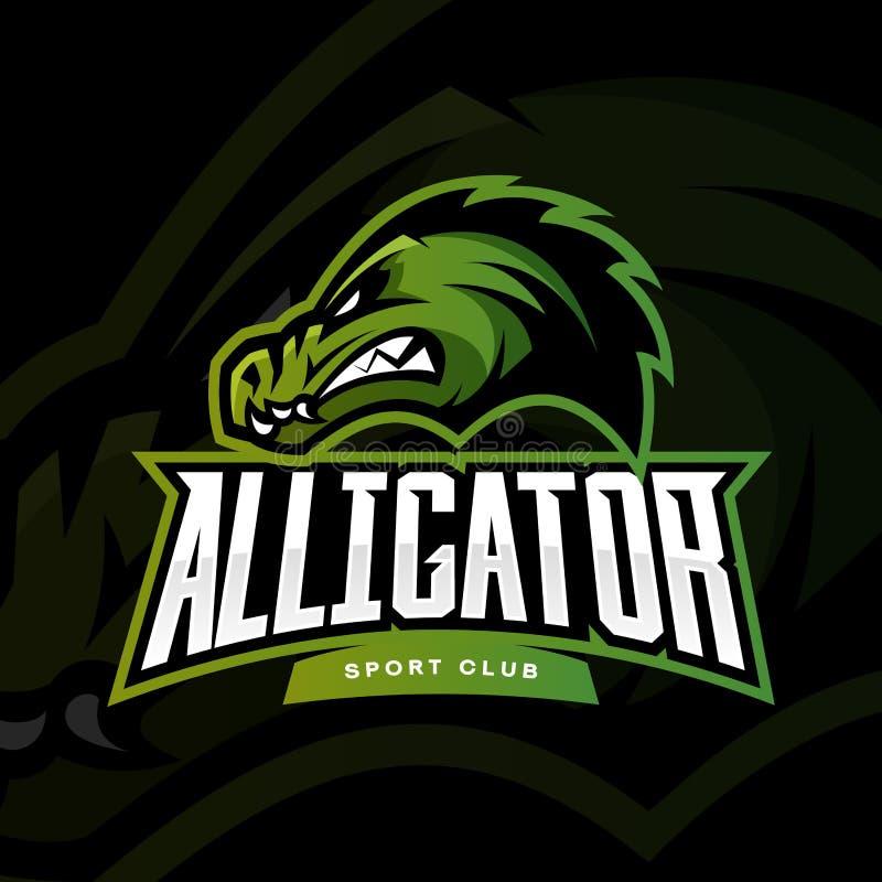 Alligator Logos Quiz Bunny sport illustrati...
