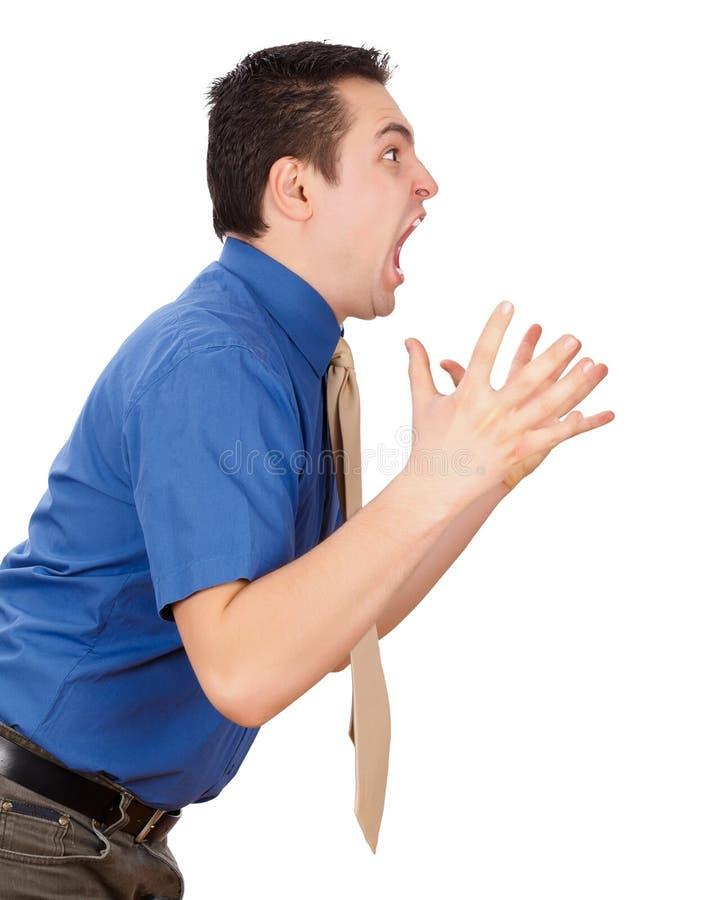 Stressful Job Stock Photography
