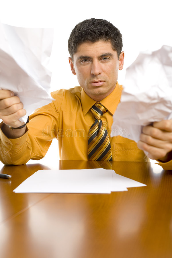 Download Furious office worker stock photo. Image of angry, attractive - 2218238