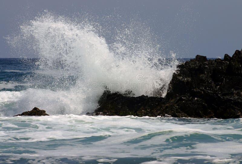 Furious sea stock photo