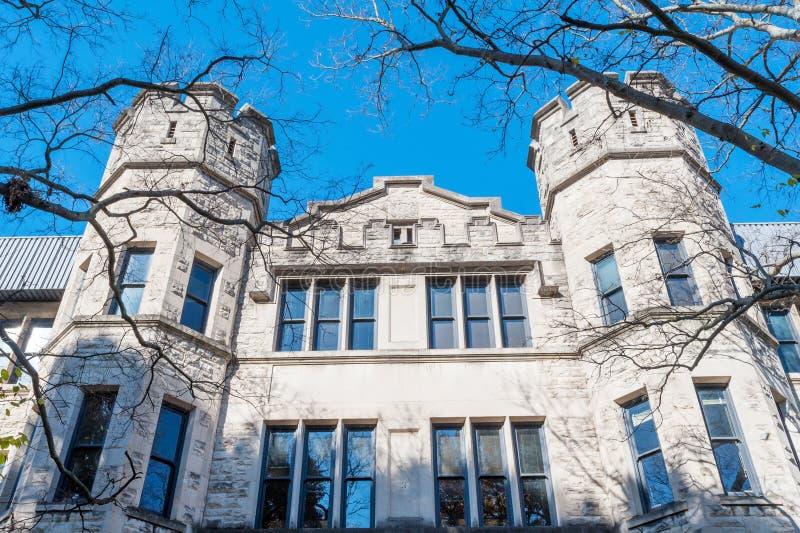 Furman Hall of Vanderbilt universitet fotografering för bildbyråer