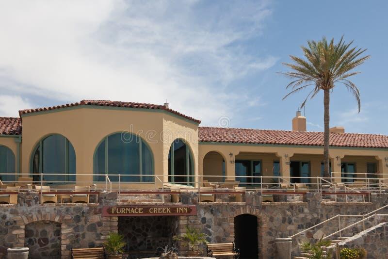Furnace Creek Inn, California royalty free stock photos