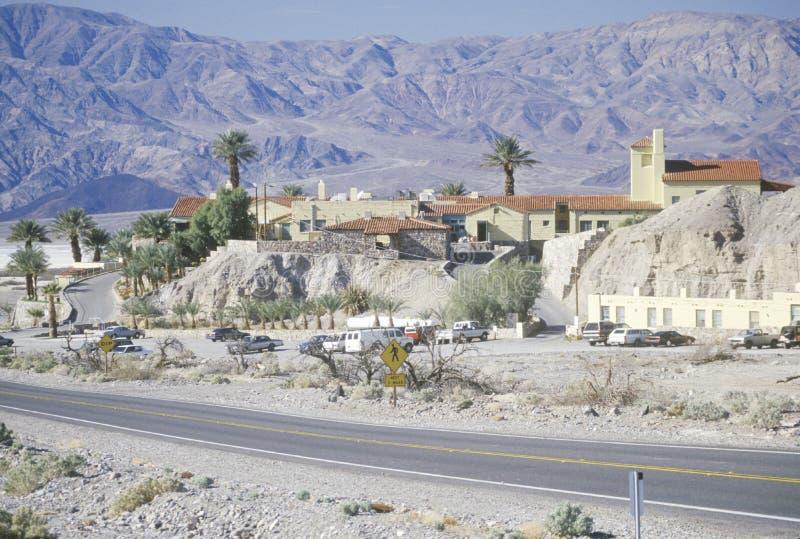 Furnace Creek Inn, Death Valley, California royalty free stock photos