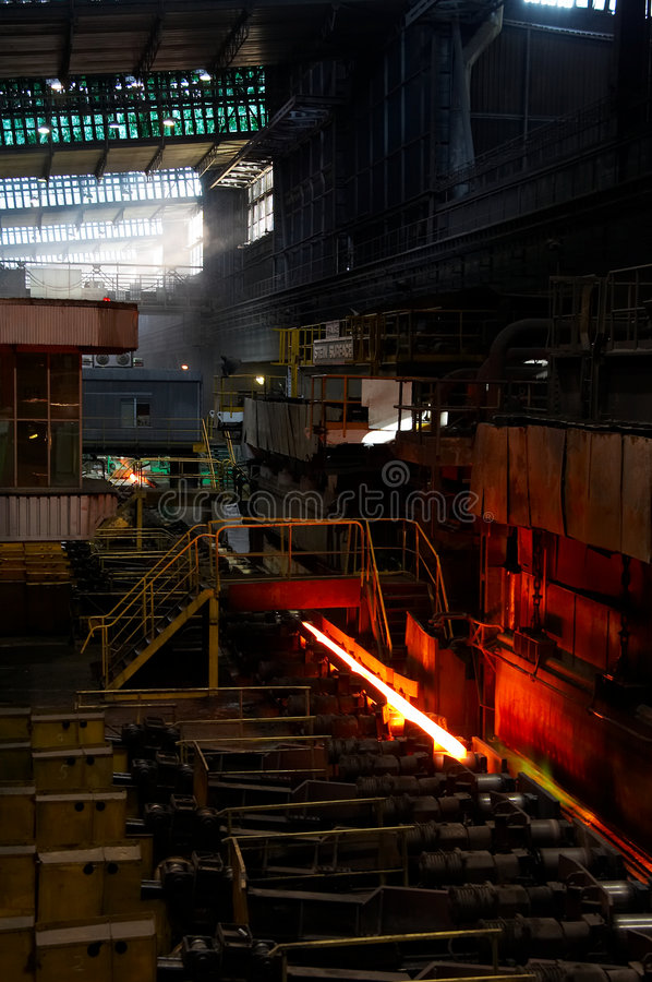 Furnace and Steel royalty free stock photos