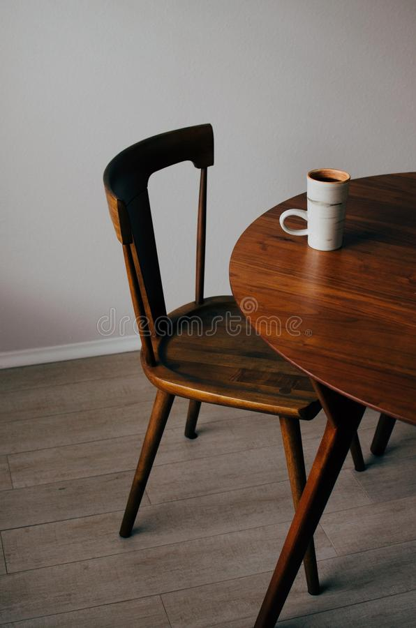 Furniture, Chair, Table, Wood stock images