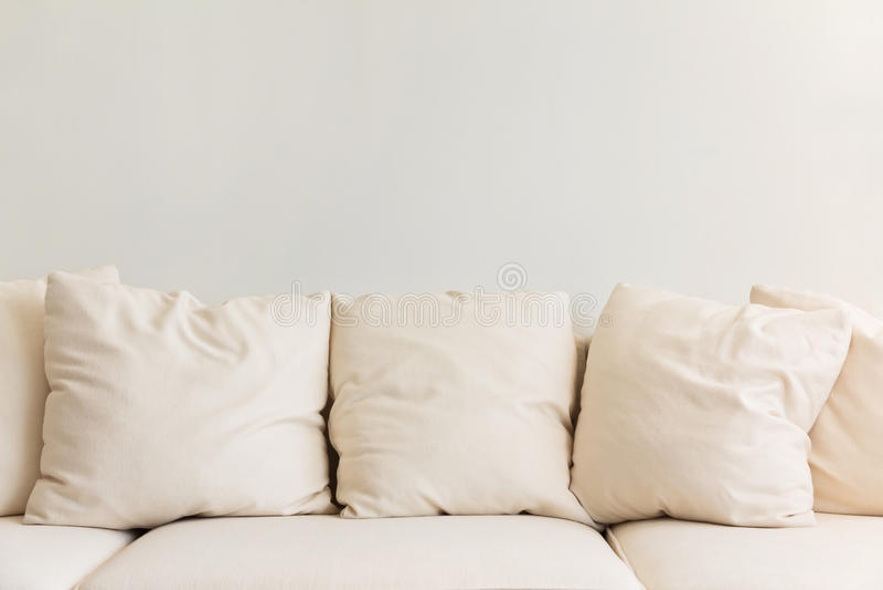 Furniture cushion stock photo