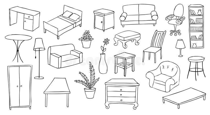 Furniture and decoration set