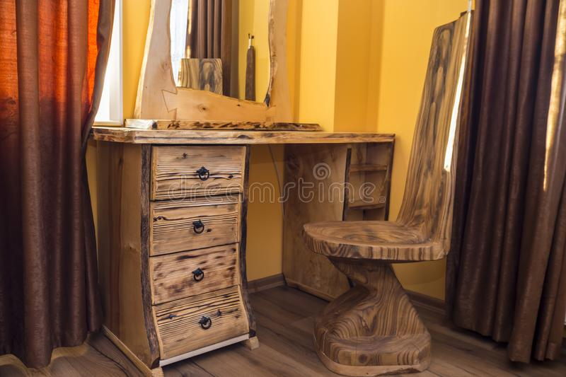 Download Shou Sugi Ban Wooden Furniture Stock Image   Image Of Surface,  Treated: 107861307