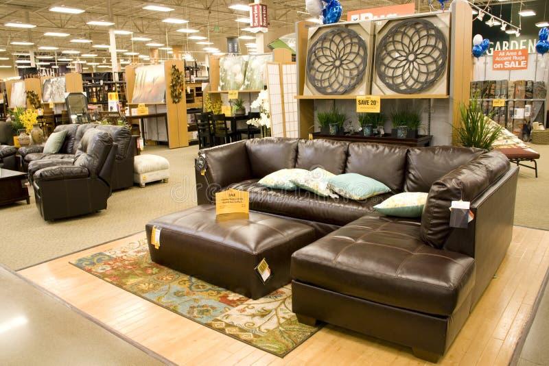 Furniture home decor store stock photos