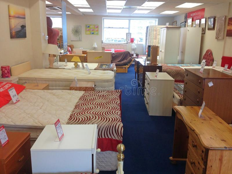 Download Furniture Inside A Second Hand Used Charity Shop. Editorial Image    Image Of Furniture