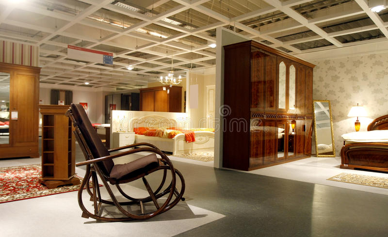 Furniture store royalty free stock photos