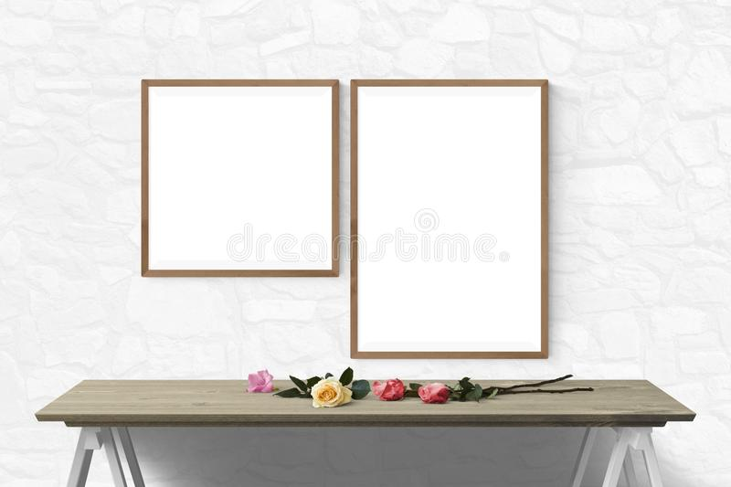 Furniture, Table, Picture Frame, Product Design stock photo