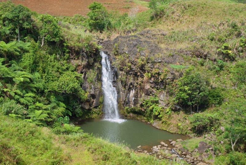 Furo da cachoeira da garganta foto de stock royalty free