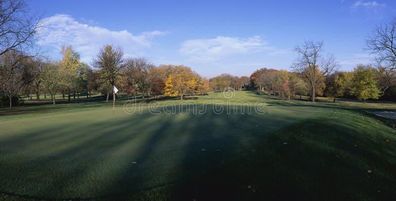 Furo do golfe imagem de stock royalty free